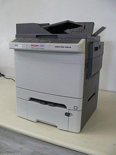 RICOH IBM Info Dual Tray Print Color Model 1826 MFP Printer, Copier, Scanner fax (Tray Fax)