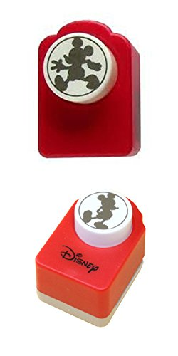 Set of 2 Disney Craft Paper Punches – Mickey Mouse & Walking and Strolling (Mouse Mickey Walking)