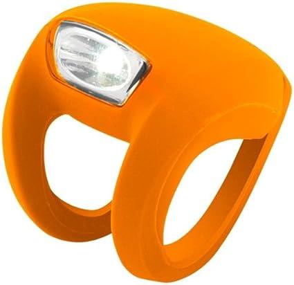 KNOG SKINK 4 White LED Bike Headlight Translucent 3 Flash Modes Water Resist NEW
