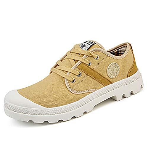 Automne Semelles Chaussures Femme Bout EU39 Polyuréthane Printemps Talon Lacet Marche Légères US8 D'athlétisme Chaussures Plat TTSHOES CN39 Rond Confort Khaki UK6 xAqI1xw