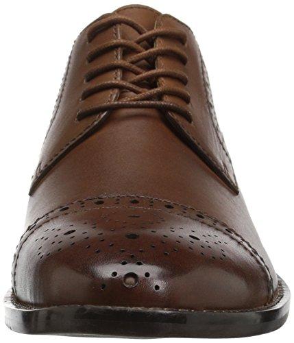 206 Collectief Heren Georgetown Cap-toe Oxford Cognac Leer
