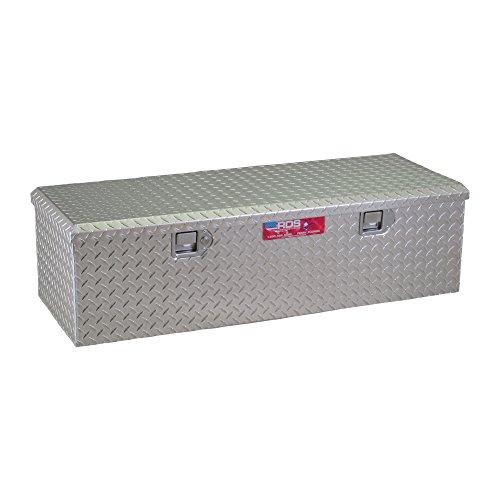 48in. Aluminum Diamond Plate Storage Container Box with Lock (Storage Box Plate Diamond)