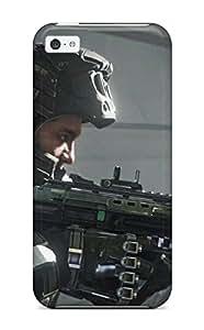 Special Doug Jordan Skin Case Cover For Iphone 5c, Popular Call Of Duty Advanced Warfare Phone Case