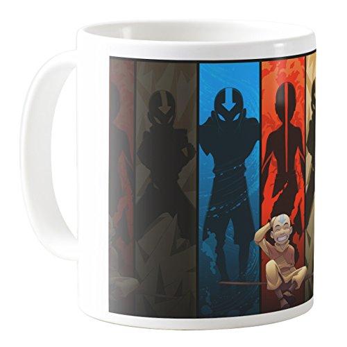 AquaCafeMug - CMSTL-A79430 - 11oz Ceramic Coffee Mug Tea Cup (Avatar The Last Mug)