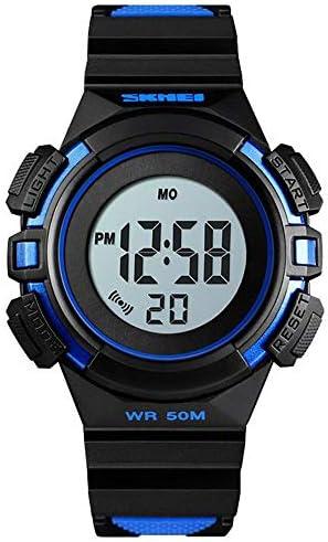 スポーツ&レジャー電子腕時計/子供用カラフル発光腕時計/クリエイティブなバイタリティウォッチ ホワイト