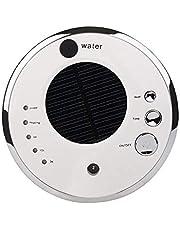 Car Air Purifier Humidifier Car Oxygen Bar Ultrasonic Solar Aromatherapy Machine (White)