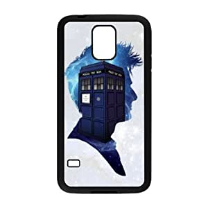 Dr Who Tardis Hard Shell TPU Rubber Full Cover Protective Case for Samsung Galaxy S5 SV S V