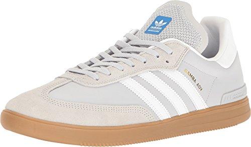 adidas Skateboarding Men's Samba ADV Light Grey Heather Solid Grey/Footwear White/Bluebird Athletic Shoe buy cheap wiki Inexpensive pre order sale online eoLk1R0r