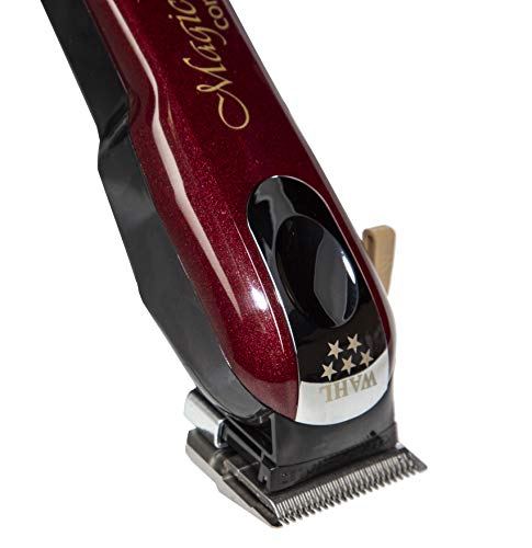 Wahl Professional 5-Star Magic Clip Cord Cordless Hair Clipper for Barbers and Stylists - Easy Fades and Haircuts with Long 90+ Minute Run Time for Professional Barbers and Stylists - Model 8148