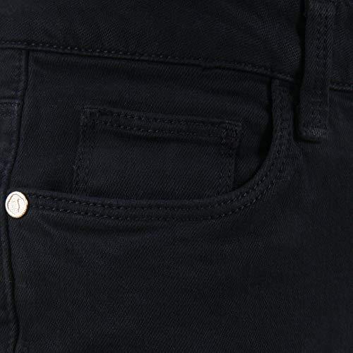 Algodon Trussardi Jeans Mujer 56594419 Negro qtPFwtHWr