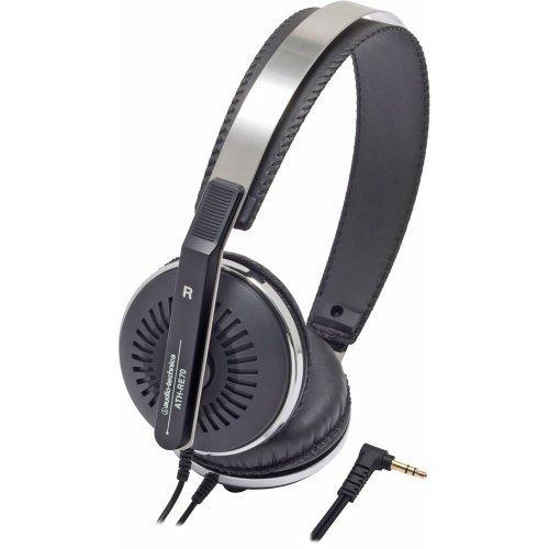 Audio Technica ATH-RE70BK Classic Retro Style On-Ear Headphones, Black, Best Gadgets