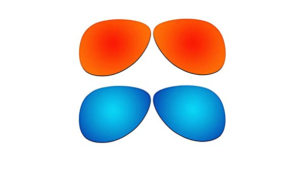 b6576f521e9ed Amazon.com   ACOMPATIBLE 2 Pair Replacement Polarized Lenses for Oakley  Elmont Large 60mm Sunglasses OO4119-xx60 Pack P2   Sports   Outdoors