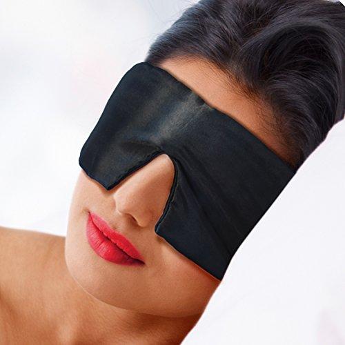 Schlafmaske mit Siebenschläfer-Effekt - Für tiefen Schlaf und optimale Erholung