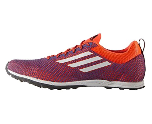 adidas XCS 6 Cross Country Ladies Running Spikes, Purple/Orange, UK8