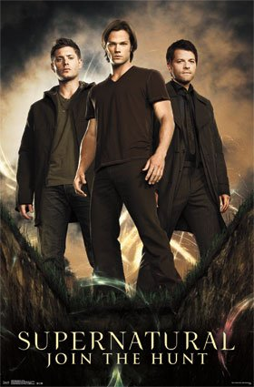 Supernatural Join the Hunt Fantasy Action Drama Series TV Television Show Print Poster 22 by 34