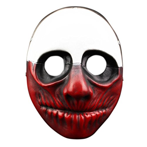 Halloween Cosplay Mask Payday 2 Wolf Masquerade Resin