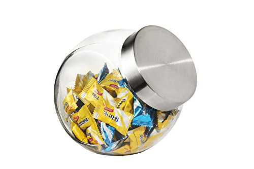 candy glass jars with lids - 4
