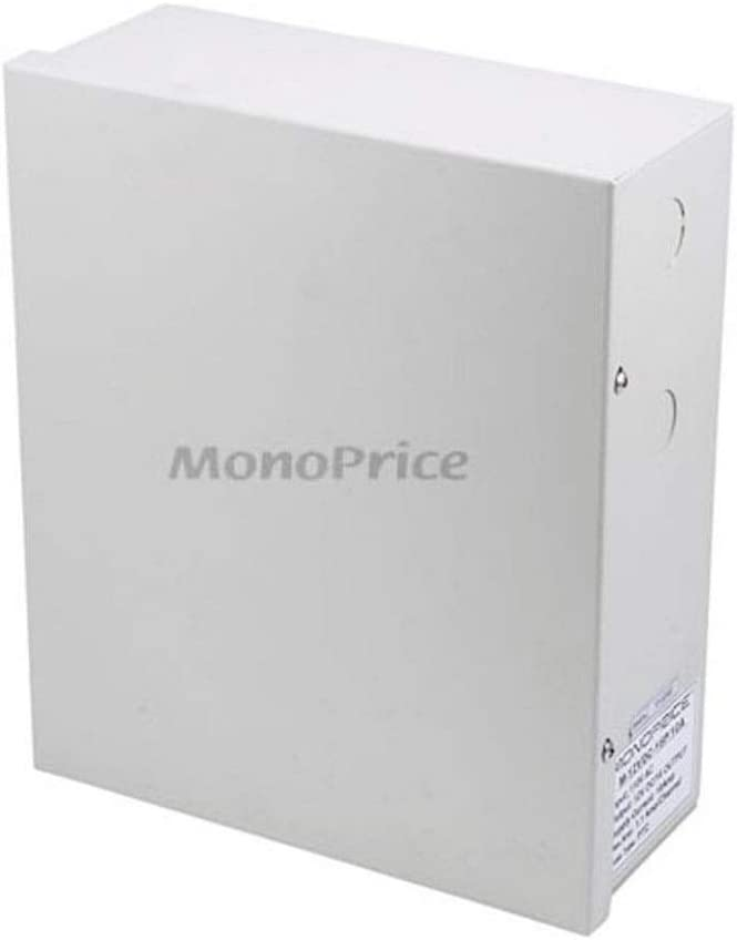 Monoprice 106877 4 Channel 12V DC 5 Amps CCTV Camera Power Cable Supply
