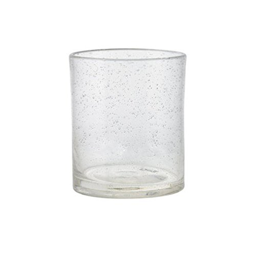 (Pack of 6 Tag Bubble Double Old Fashioned Glasses, 15 Oz, Clear)