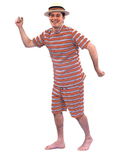 Morris Costumes BATHING SUIT MENS 20S