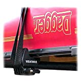 Yakima Gunwale Brackets Rooftop Canoe Carrier with Straps, Outdoor Stuffs