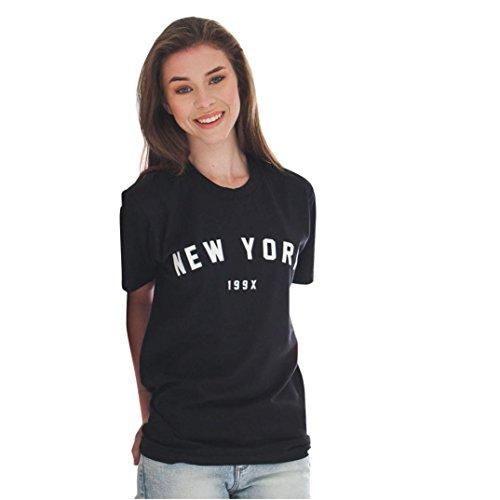 S~XL Women Loose Short Sleeve Casual Blouse Shirt Tops Fashion Summer T-shirt Prettymenny (S)