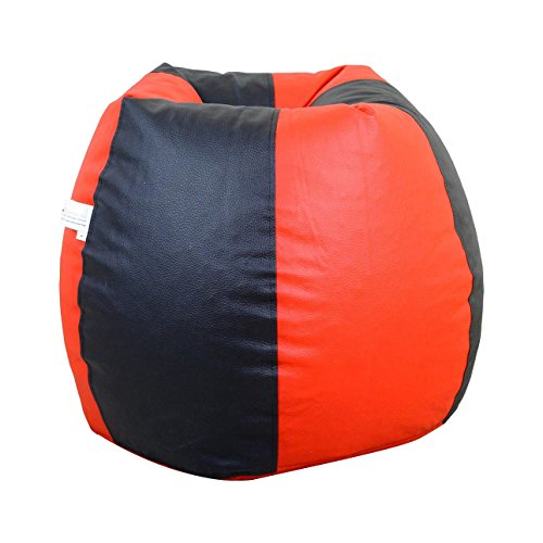 Orka XL Bean Bag Cover – Red and Black
