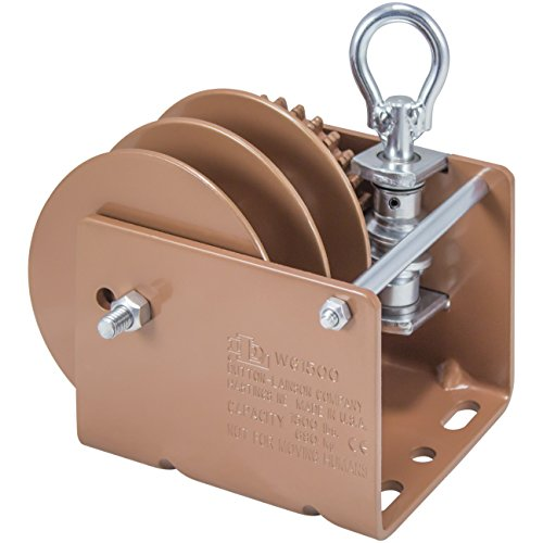 (Dutton-Lainson Company WG1500RLD 1500 lbs Worm Gear Winch with Loop Drive and Split)