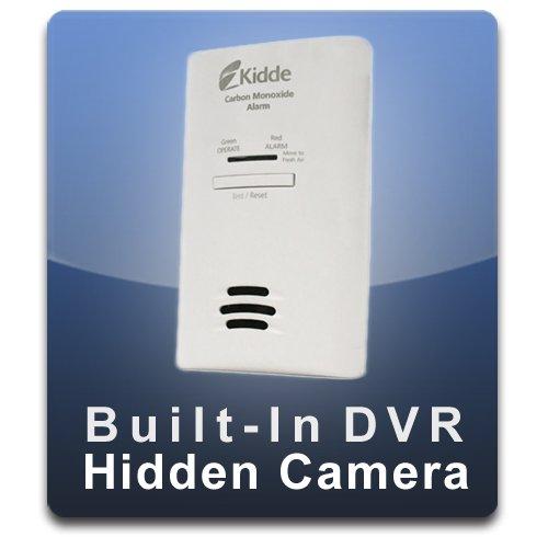 PalmVID DVR PRO Carbon Monoxide Detector Hidden Camera with Built-In DVR