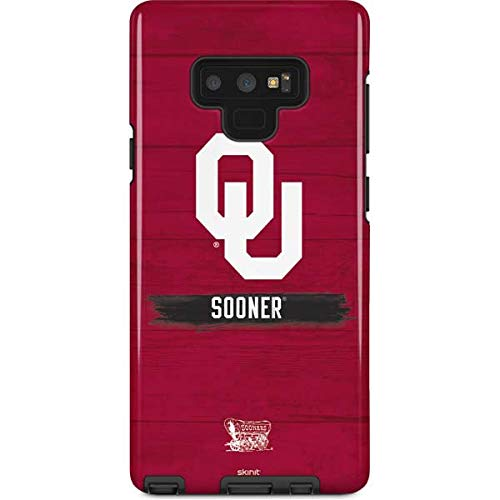 Skinit University of Oklahoma Galaxy Note 9 Pro Case - Oklahoma Sooners Design - High Gloss, Scratch Resistant Phone Cover
