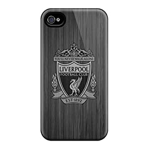 Anti-Scratch Hard Phone Covers For Iphone 6plus With Custom Stylish Liverpool Fc Iphone4 Skin DustinFrench