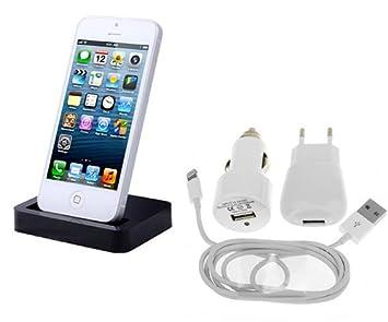 ELETTRONICADIGITALE Kit Accesorios para Apple iPhone 5/5s/5 C ...