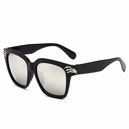 personalidad dama de tendencia hombre sol Aoligei de sol gafas A retro de sol nuevas cráneo Gafas garra gafas qS7xvt