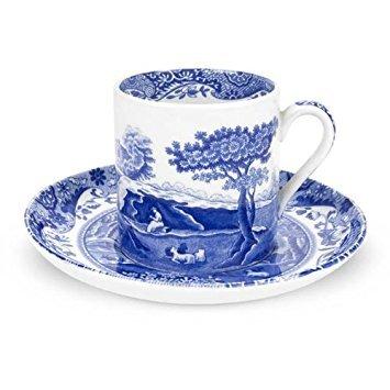 Imari Coffee Saucer - Spode Blue Italian Coffee Cup & Saucer
