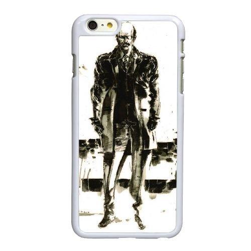 Metal gear solid snake eater X3E33 M3M7UQ coque iPhone 6 Plus de 5,5 pouces cas de couverture de téléphone portable coque blanche HW9HGK2RY