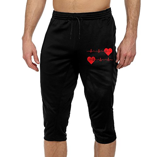 Price comparison product image Nurse Heartbeat EKG Men's Casual Sports Jogging Harem Pants Jersey Sweatpants