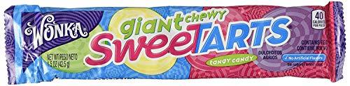 Wonka Giant Chewy Sweetarts - 1.5 Oz (Pack of 2)]()