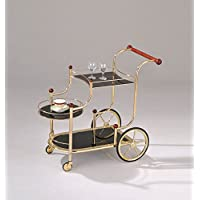 HomeRoots Kitchen 286124-OT Cart, Multicolor