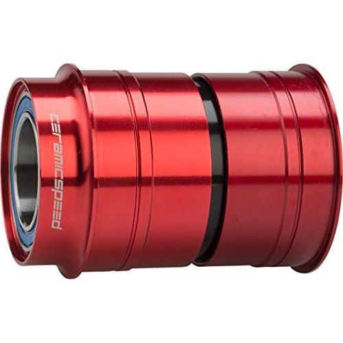Image of CeramicSpeed BBright Bottom Bracket SRAM GXP Red