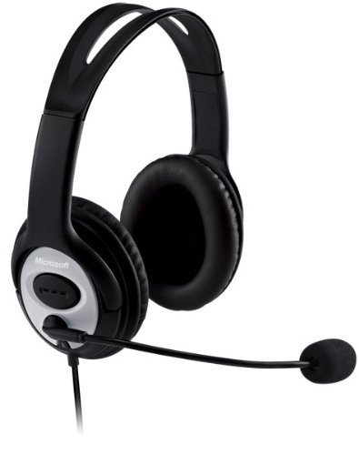 Life Chat LX 3000 Stereo Headset Headphones