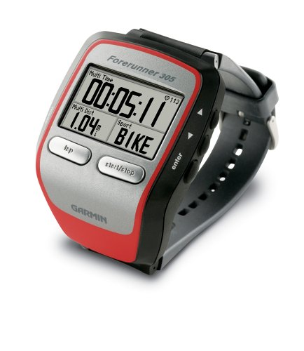 amazon com garmin forerunner 305 gps receiver with heart rate rh amazon com garmin forerunner 305 manual español garmin forerunner 305 user manual