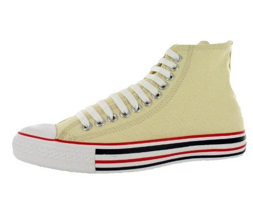 Converse Chuck Taylor Details Hi Natural High-Top Canvas Fashion Sneaker - 12M/10M