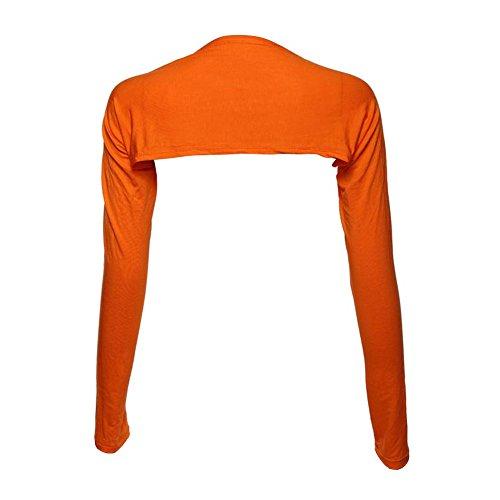 Weixinbuy Muslim Arm Cover Shrug Bolero One Piece Sleeves Tops Orange (Best Islamic Clothing Websites)