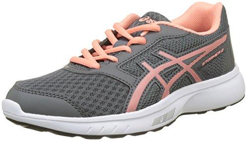 Asics Stormer 2 GS, Zapatillas de Running Para Niños Multicolor (Carbonbegonia Pinkwhite)