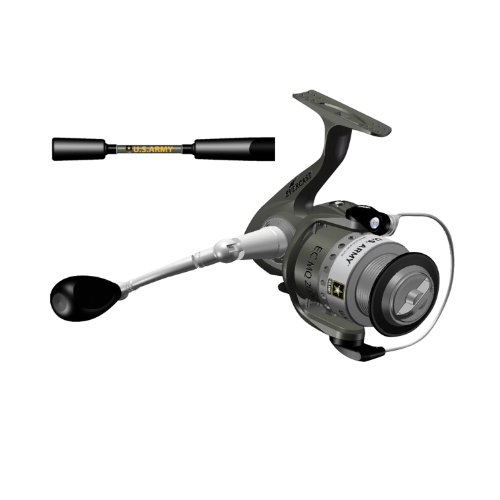 Cheap Ardent Military Spinning Combo Kit (2-Piece), Army Green, 6-Feet, Medium