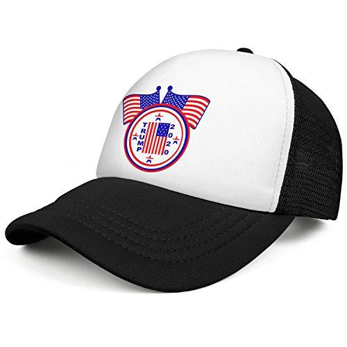 SHOANY Trump 2020 Unisex Mesh Baseball Caps Personalised Cricket Hats