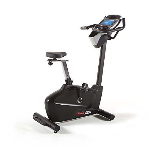 Sole B74 Upright Bike 48 x 23 x 54, Black/Red/White