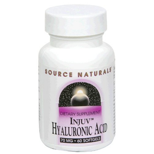 Source Naturals Injuv Acide Hyaluronique, 70mg, 60 gélules