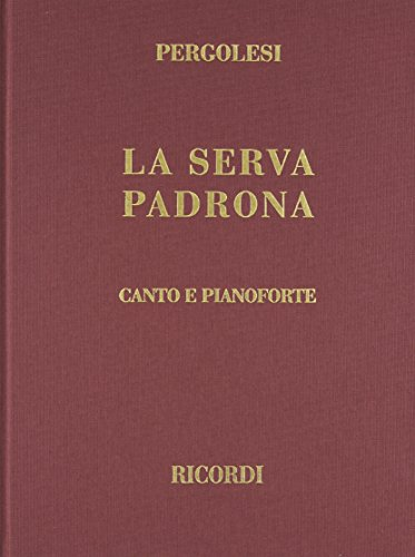 La Serva Padrona, Cloth, Italian only: Vocal Score