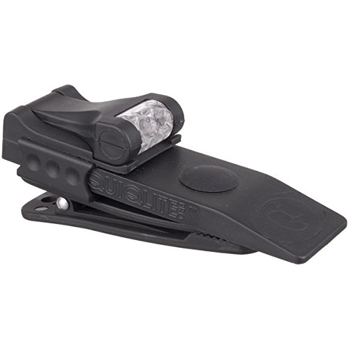QuiqLitePro Hands Free Pocket Concealable Flashlight / U.V./White LED's, 10 Lumens - Firearm Lamp